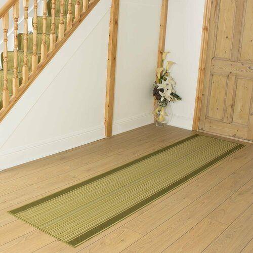 Innen-/Außenteppich Baitz in Grün ClassicLiving Teppichgröße: Läufer 66 x 600 cm #stainedwood