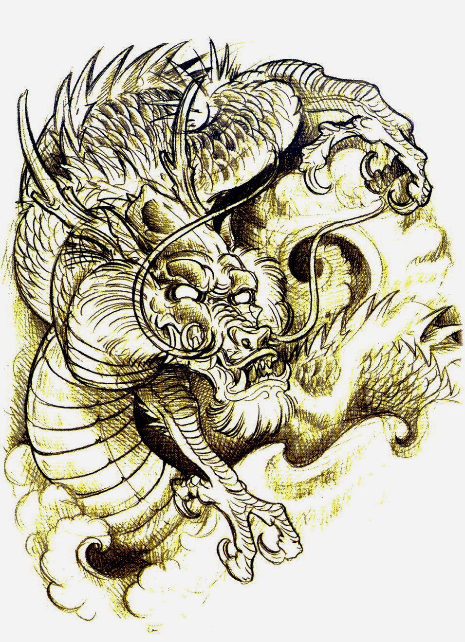 Cabezas De Dragones Para Tatuar jee sayalero tattoo sketchbook (53) (955×1320) | tatuaje