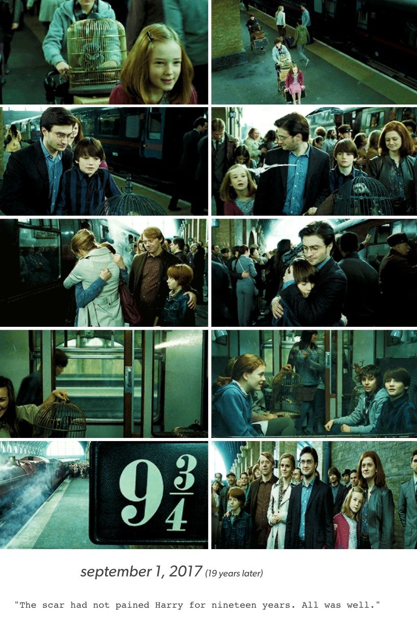 Happy September 1st Today September 1st 2017 Is The Day The Harry Potter Epilogue Takes Place Harry Potter Epilogue Harry Potter Love Harry Potter Films