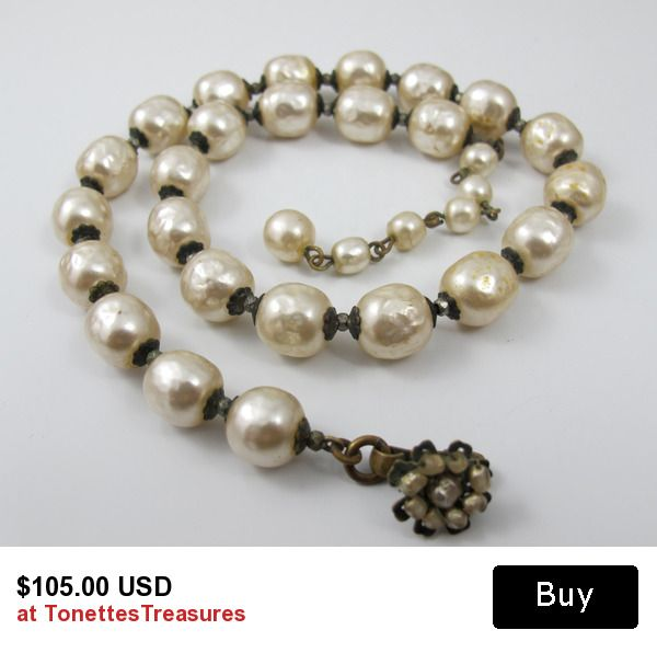 haskell vintage necklace miriam