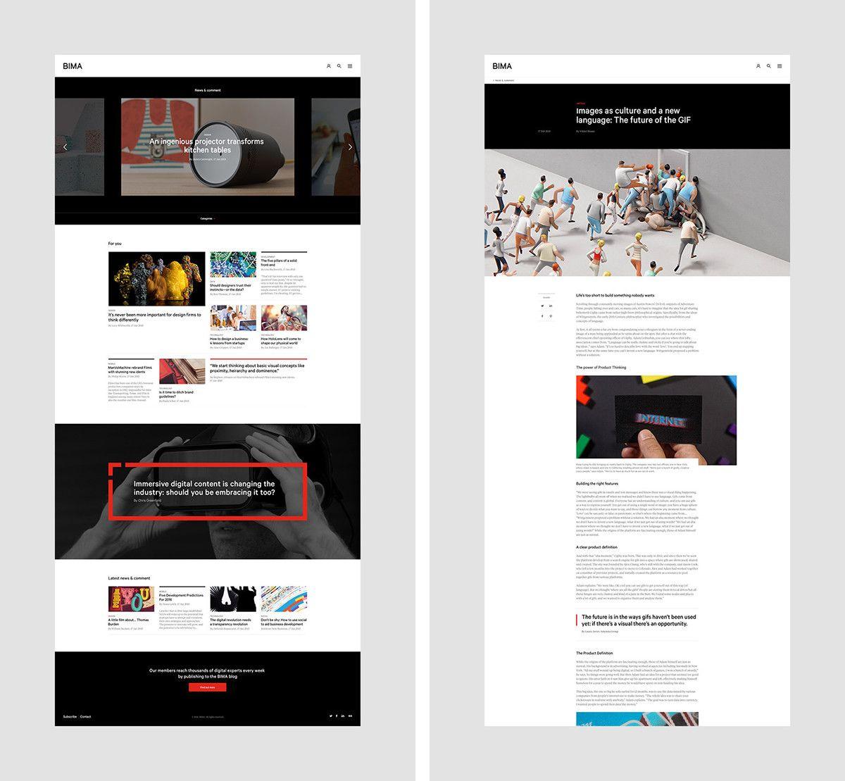 British Interactive Media Association On Behance Interactive Media Interactive Web Trends
