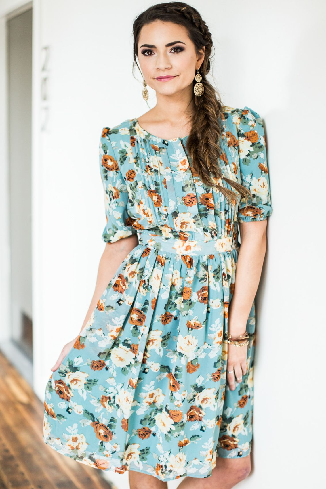 Modest Nursing Dresses