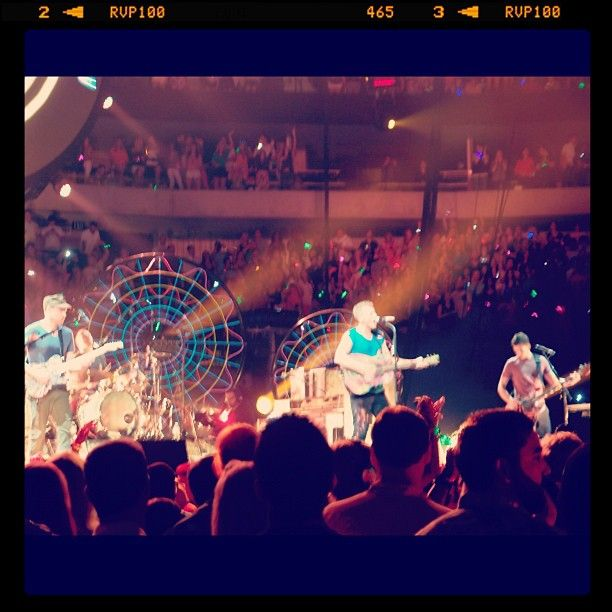 The boys are back in town... Dallas 23.06.12 #oxfamontour #oxfamgrow #coldplay