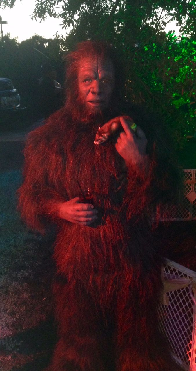Bigfoot spotted near Charleston, SC compositeeffects