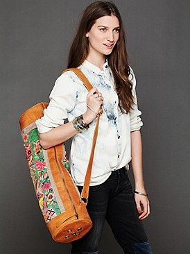 Ofantique Vintage Tribe Yoga Bag at Free People Clothing Boutique