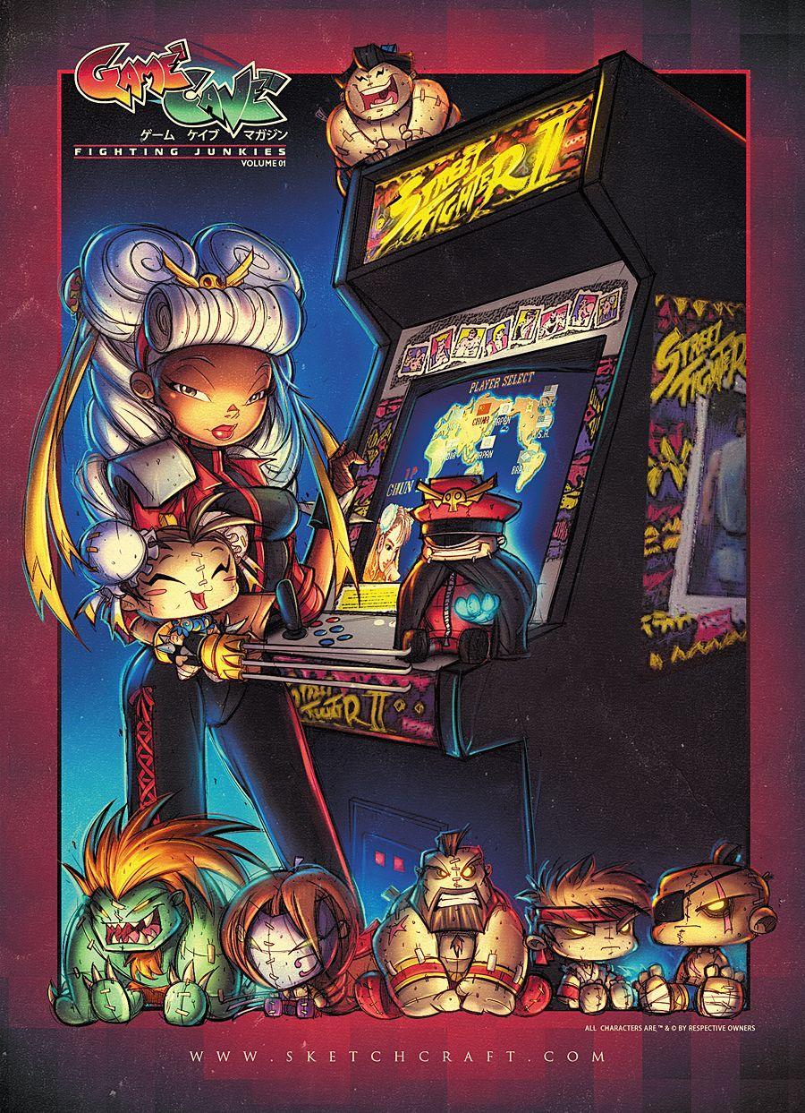 GameCave Fighting Junkies Promo 03 by RobDuenas on