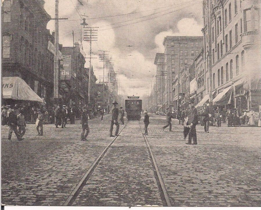 Main Street, Butte, Mont. - Vintage Post Card 1901-1907 Era. in Collectibles | eBay