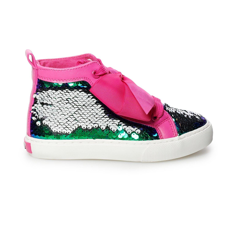 JoJo Siwa Mermaid Girls' High Top Shoes