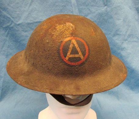 b0eccf03cefc7 Stewart's Military Antiques - - US WWI 3rd Army Doughboy Helmet ...