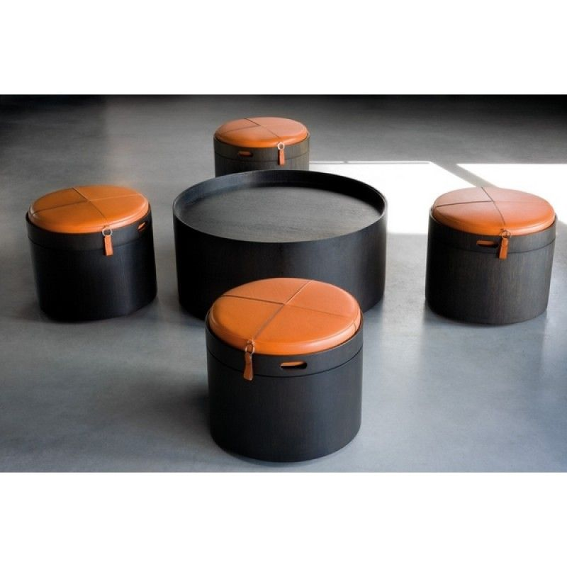 Table Basse Pouf Stoll 90 Wildspirit | Mobilier | Pinterest
