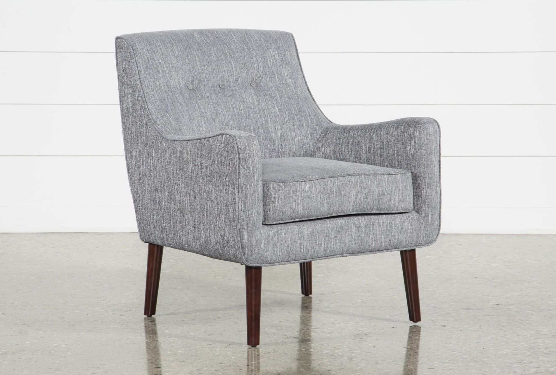 Best Kendra Grey Accent Chair Grey Accent Chair Accent 400 x 300