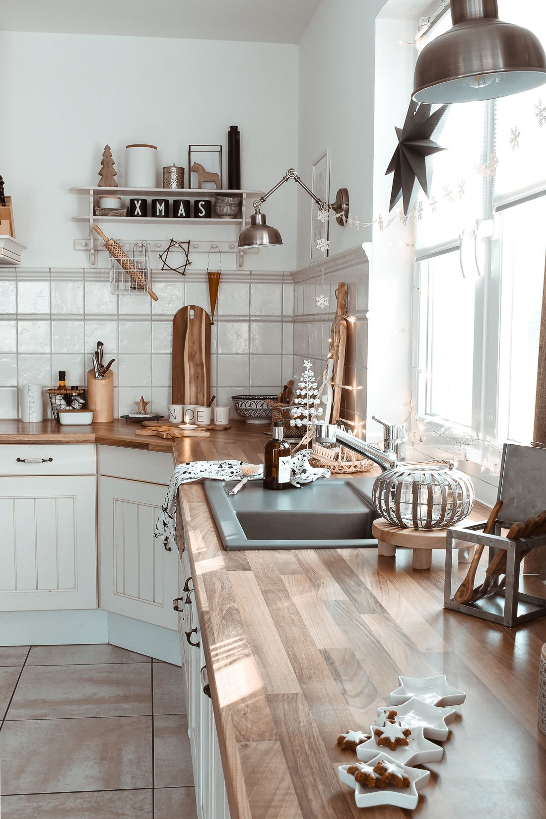 visit this warm natural boho german home for the holidays interior design kitchen small on kitchen interior boho id=36206