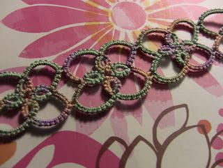 Tatting it Up: Alive and Well! *apologies*, also includes the pattern for this bracelet.