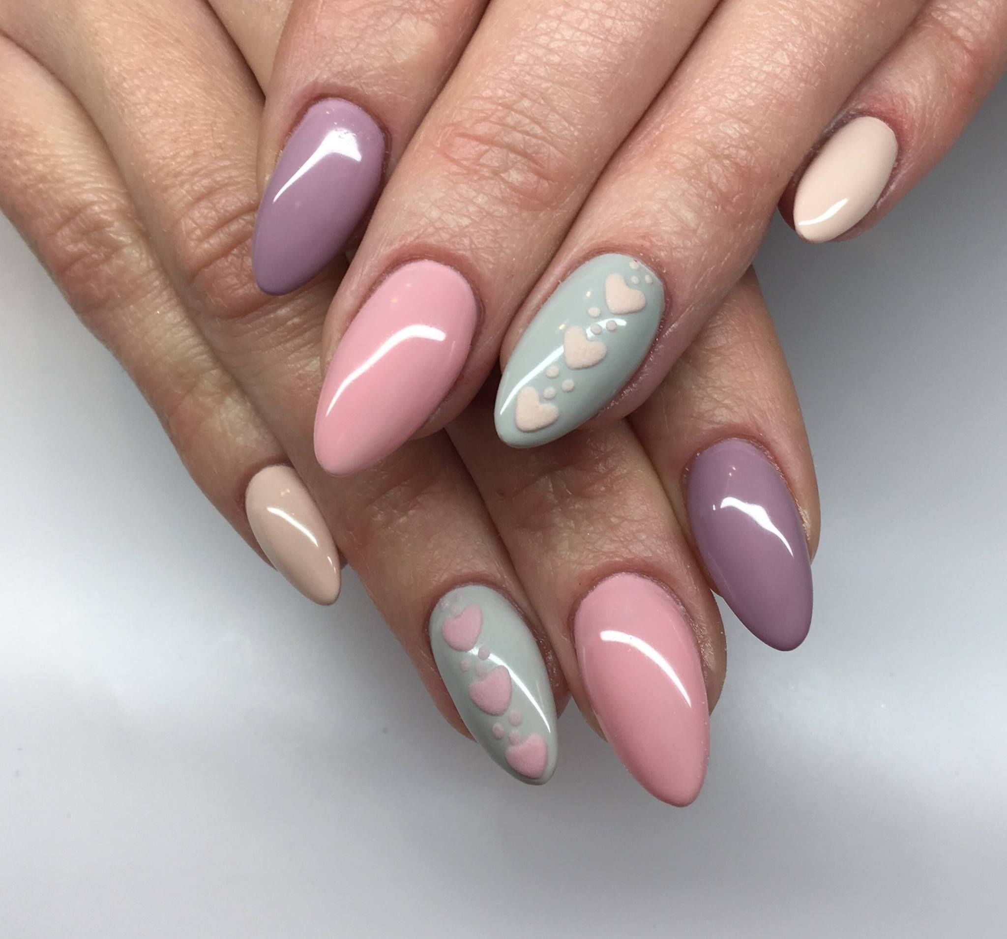 Pastel nails | nails | Pinterest | Pastel nails, Pastels and Manicure