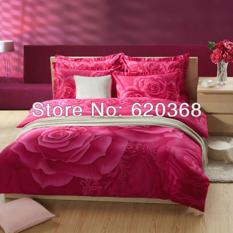 Aliexpress.com : Buy 100%cotton reactive printed bed sheet set / duvet cover quilt covers/bed cover/bedsheet/bedclothes/bedspreads/pillowcase from Reliable quilt covers suppliers on Yous Home Textile $75.00