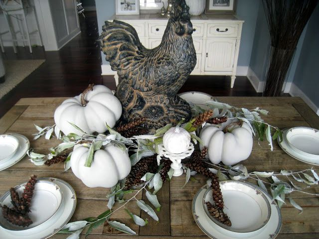 fall table - lilypadcottage