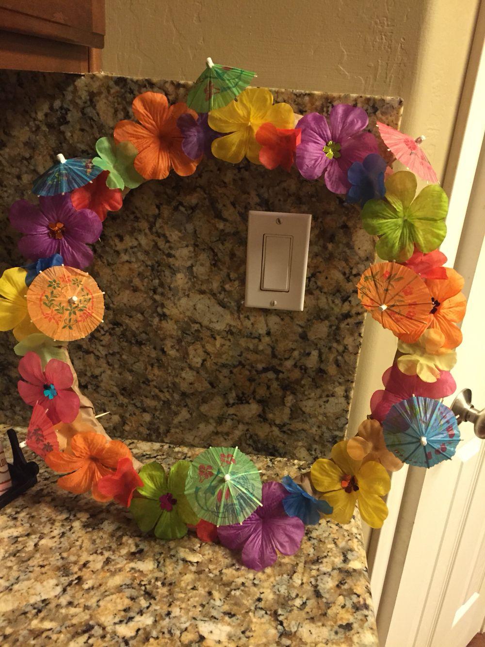 Luau wreath
