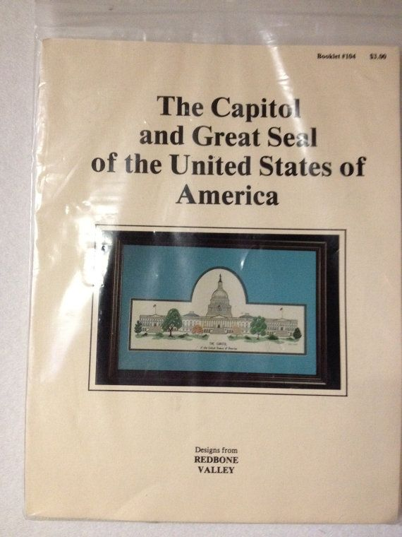 The Capitol and Great Seal of the United by KoopsKountryKalico, $14.99