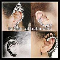 Source TORA Fashion earring Ear Cuff on m.alibaba.com