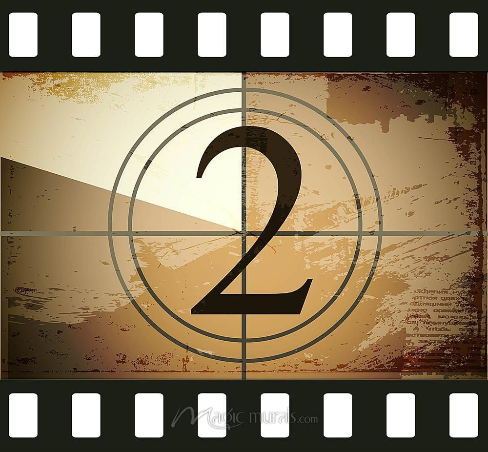 16 Mm Film Countdown 2 Film Countdown Countdown Liverpool Poster