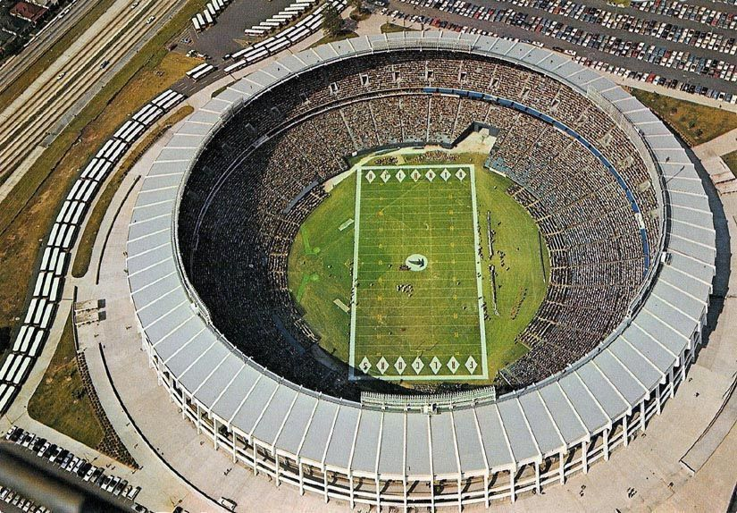 Pin by Rick on Vintage Stadiums Stadium, Sports stadium