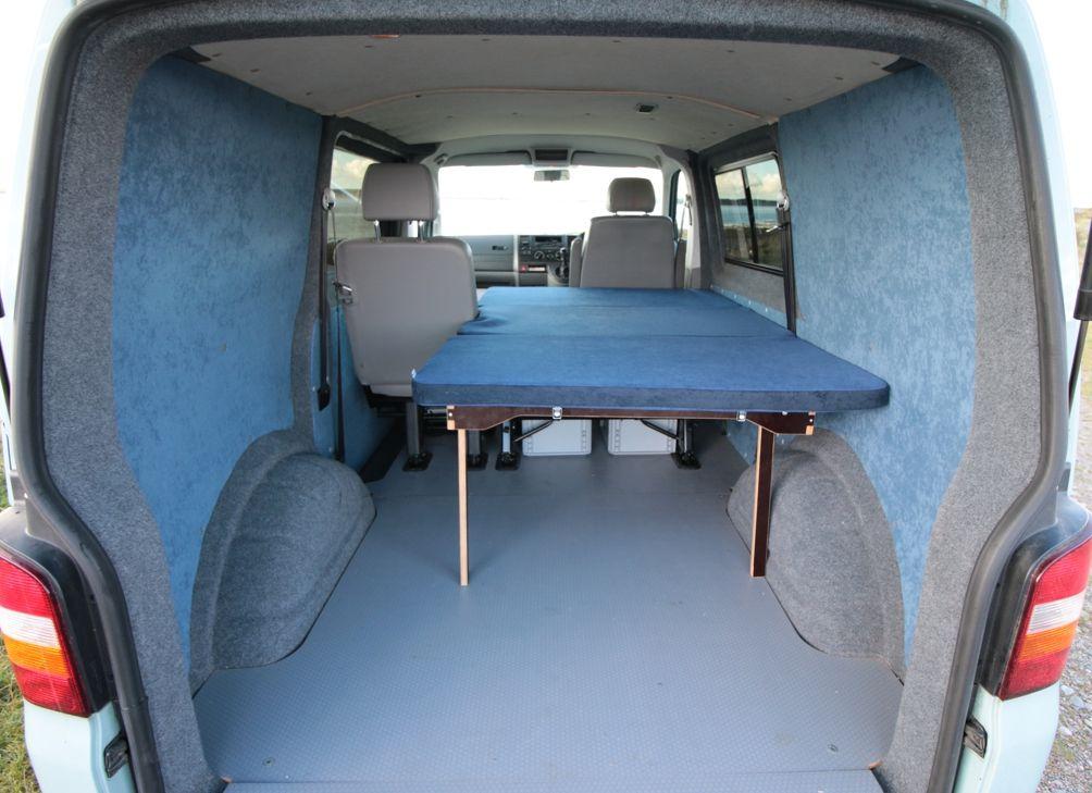 vw transporter kombi bed amdro alternative campervans. Black Bedroom Furniture Sets. Home Design Ideas