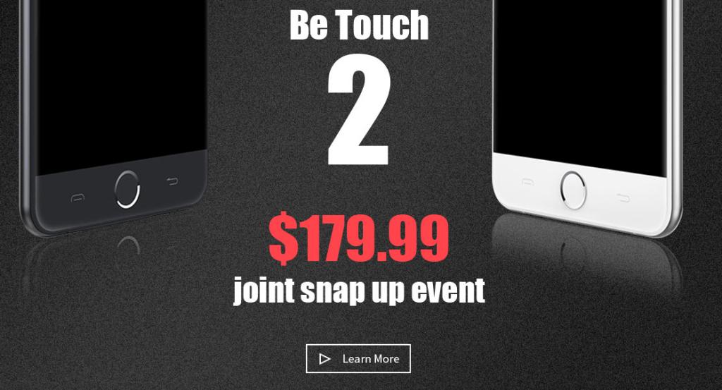 Mola: 10.000 unidades del uleFone Be Touch 2 se podrán adquirir por 163€
