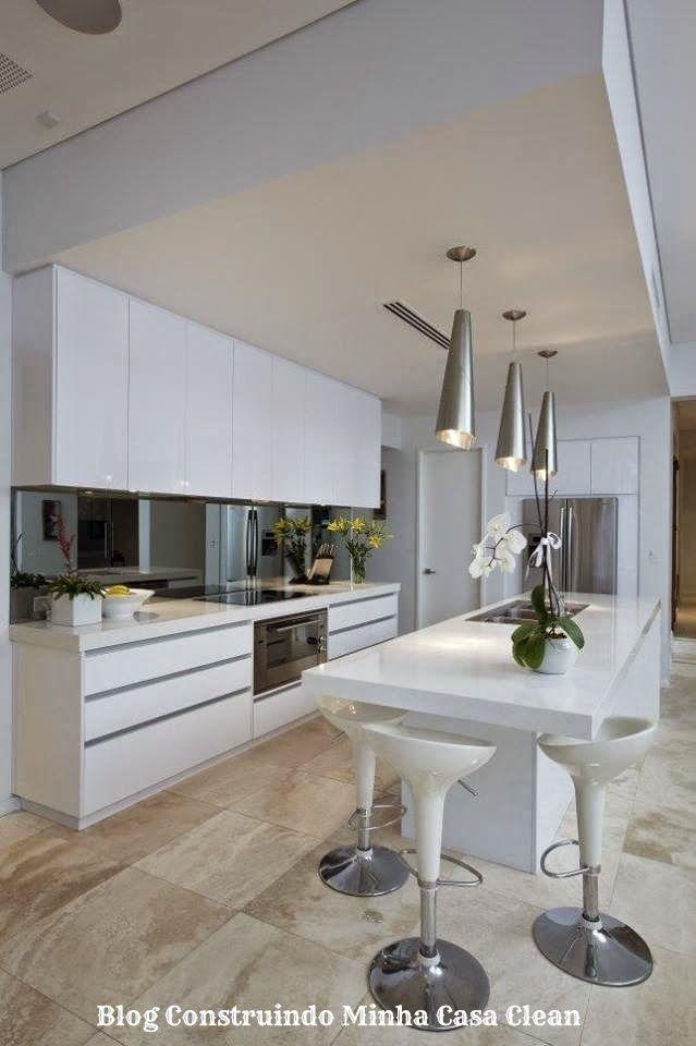 12 Cozinhas de Luxo Modernas!!! Veja Dicas e Modelos! Cocinas - modelos de cocinas