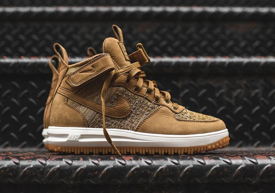 """new style 38311 ba1e4  sneakers  news The Nike Lunar Force 1 Flyknit Releases In """"Flax"""""""