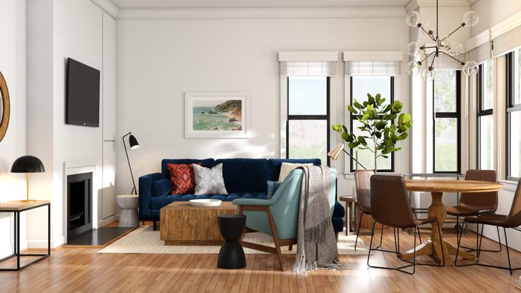 20 qm Wohnzimmer einrichten LayoutBeispiele und smarte