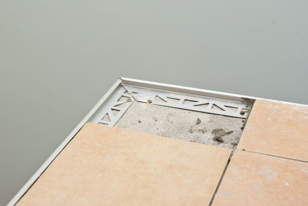 Installing Tile Edging Howtospecialist How To Build Step By