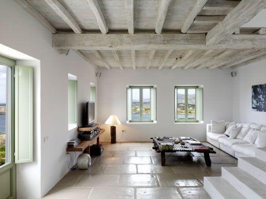 5 Inspiring European Real Estate Sites Greek Decor Home Interior Design