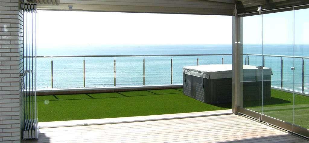 Lumon precio metro cuadrado elegant de terrazas precio - Cristales para terrazas ...