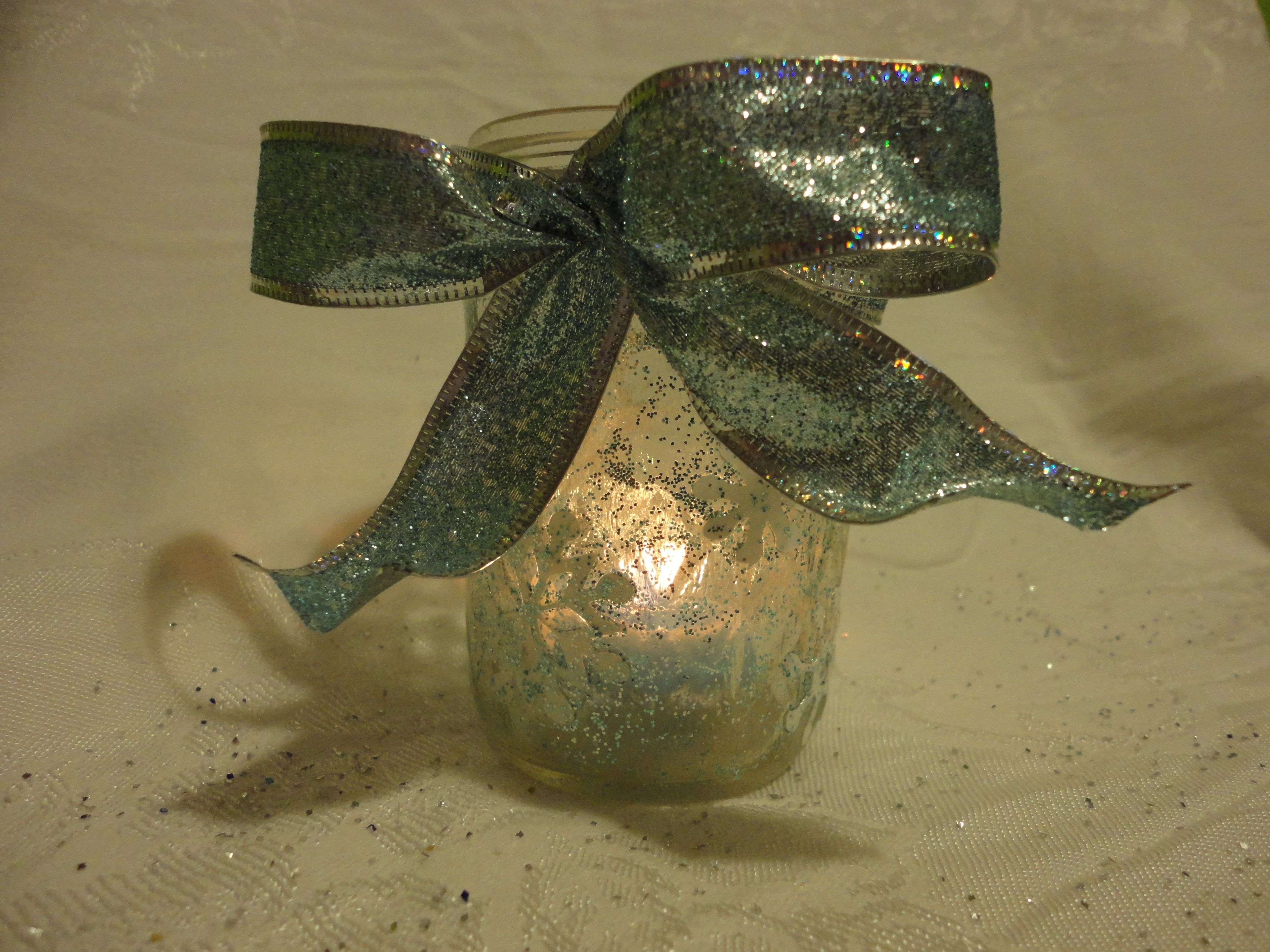 Candle in a jar...