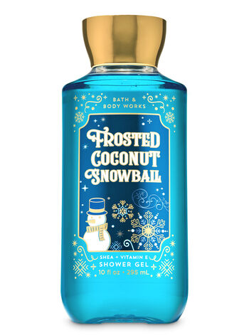 Frosted Coconut Snowball Shower Gel Bath Body Works Bath And Body Works Shower Gel Bath N Body Works