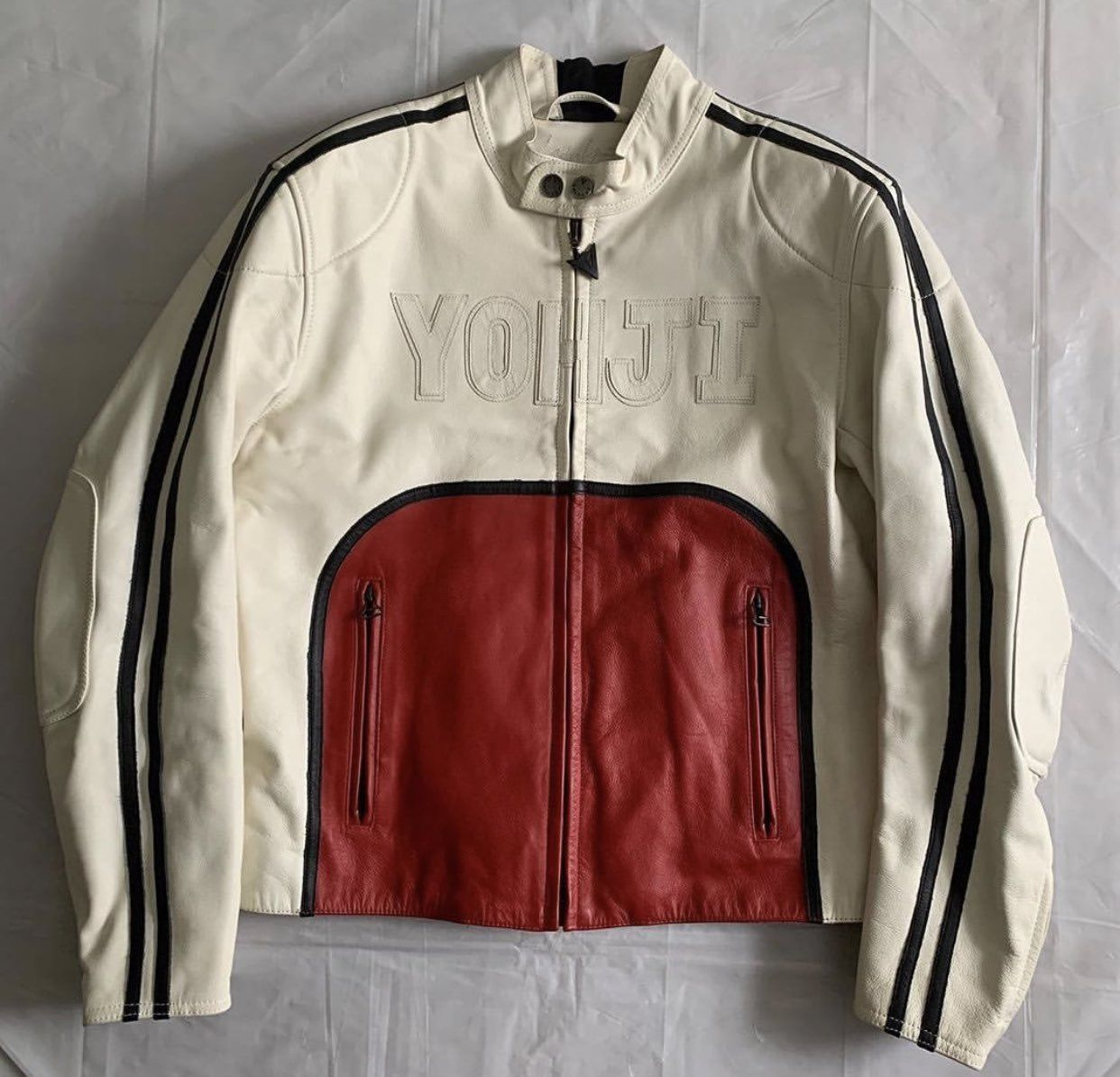 Persephone On Twitter Riders Jacket Jackets Yohji Yamamoto [ 1194 x 1242 Pixel ]