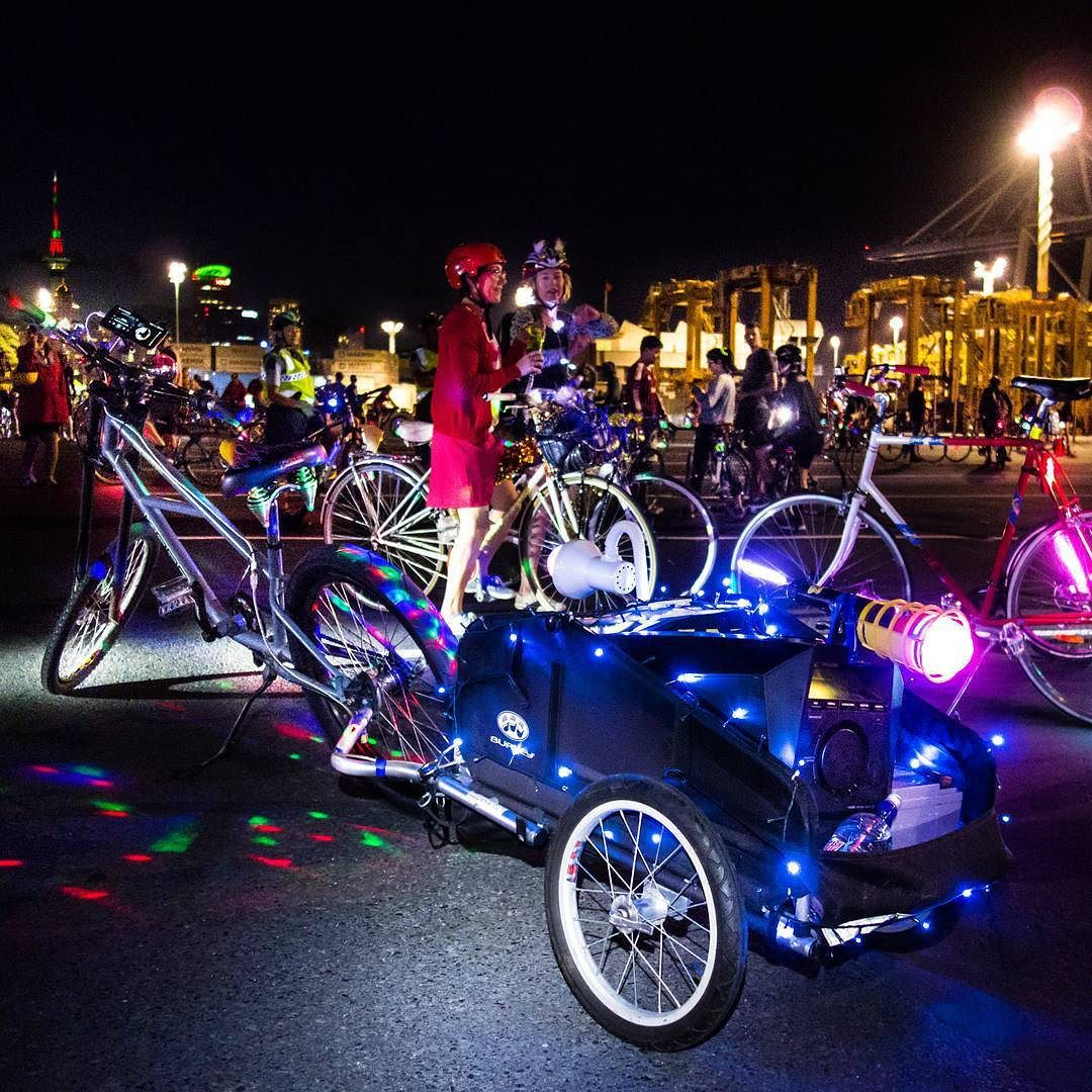 The Bicycle Tree on tumblr | Chopper-powered #partymachine at Bike Rave 3 - Too...