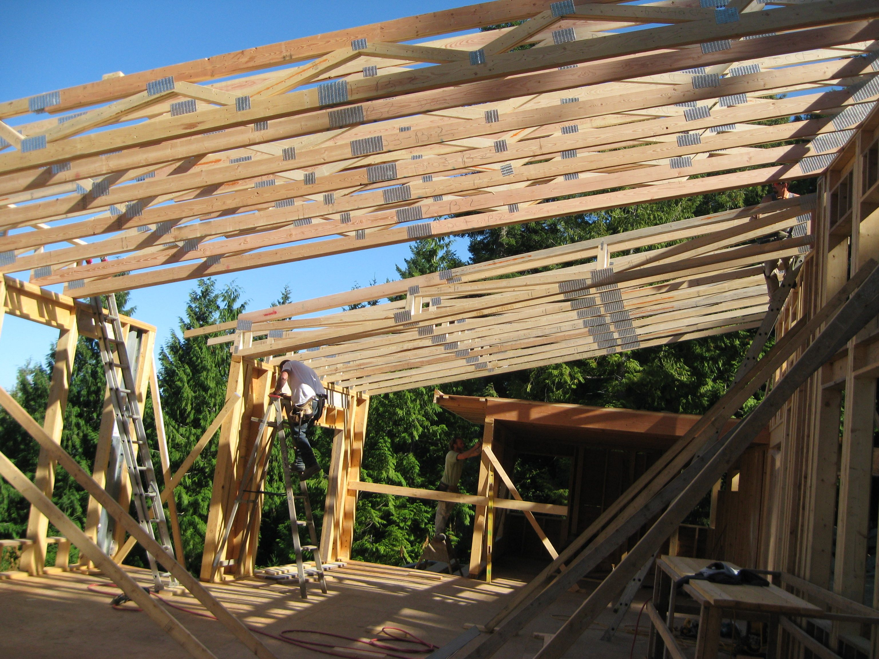 Pics For Flat Roof Trusses Roof Trusses Flat Roof Roof