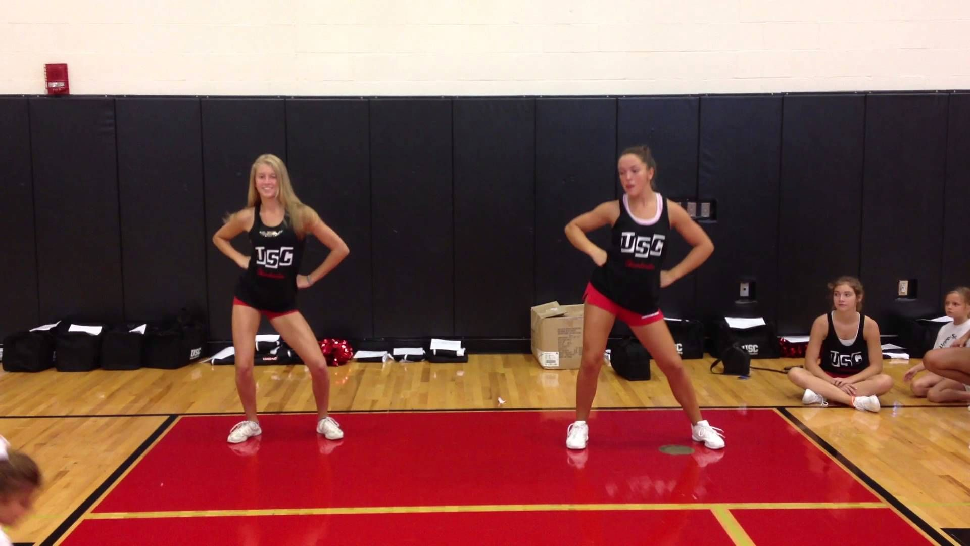 1st 2nd Grade Roar Halftime Dance Cheer Routines Cheer Dance Routines Youth Cheer