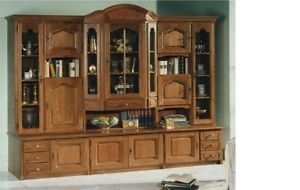 German Oak Wall Unit Schrank Entertainment Center Imported From Germany New Wall Unit Home Entertainment Furniture Furniture Warehouse