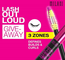 FREE Milani Lash Out Loud Giveaway Sweepstakes