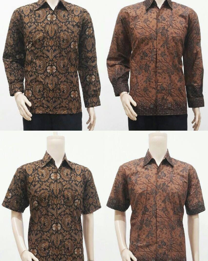 Toko Batik Online Jual Model Baju Batik Pria Motif Sogan
