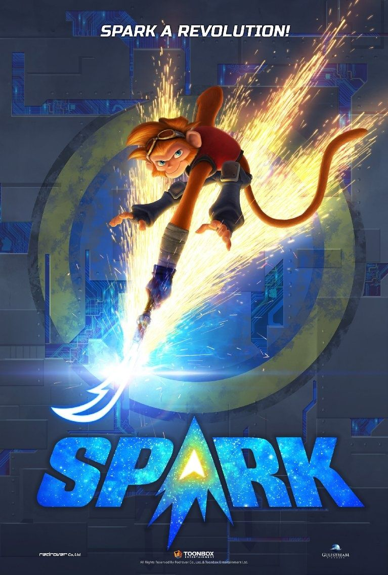 ToonBox/Red Rover Prepare SciFi Action Comedy 'Spark' for