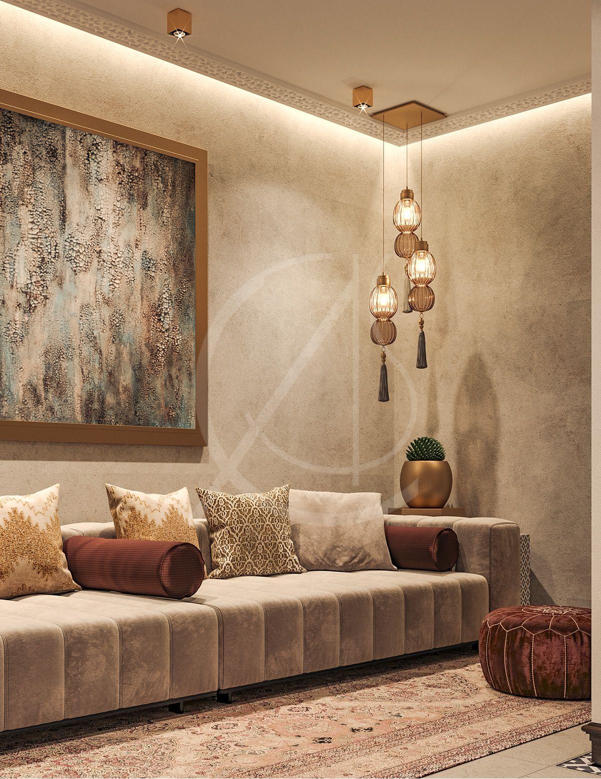 Aswar Hotel - Modern Moroccan Hotel Design  Khobar, KSA - CAS