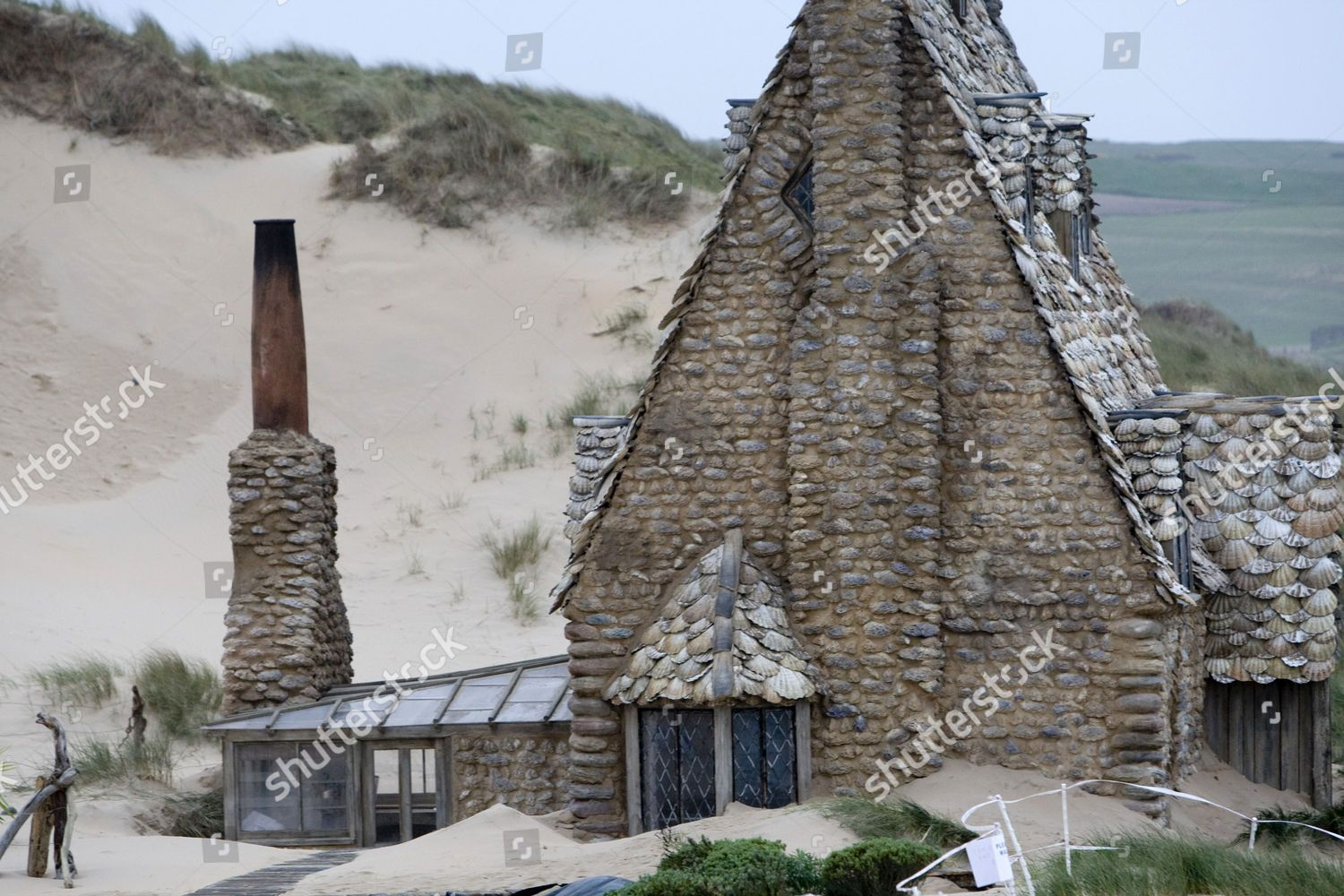 Shell Cottage Part Of The Harry Potter And The Deathly Hallows Film Set Freshwater Beach Pembrokeshire Wales B Cottage Photo Stock Images Harry Potter