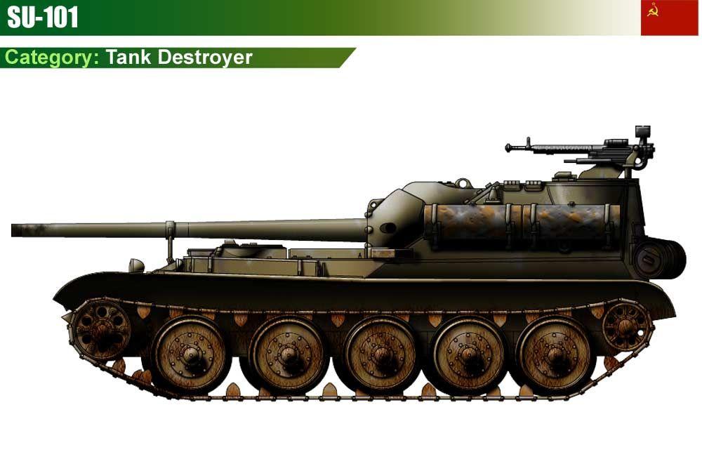 SU-101 Tank Destroyer