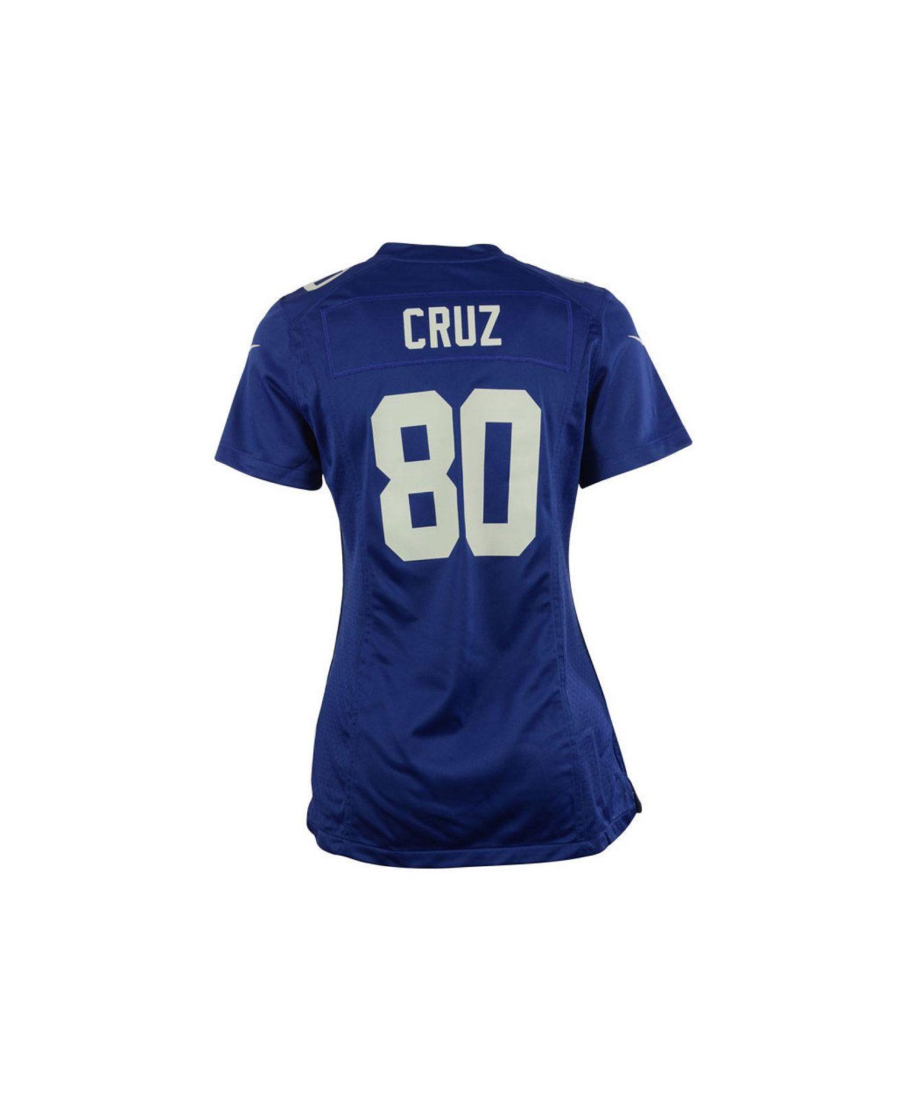 Nike Women s Victor Cruz New York Giants Game Jersey - Sports Fan Shop By  Lids - Men - Macy s 492dc25e1