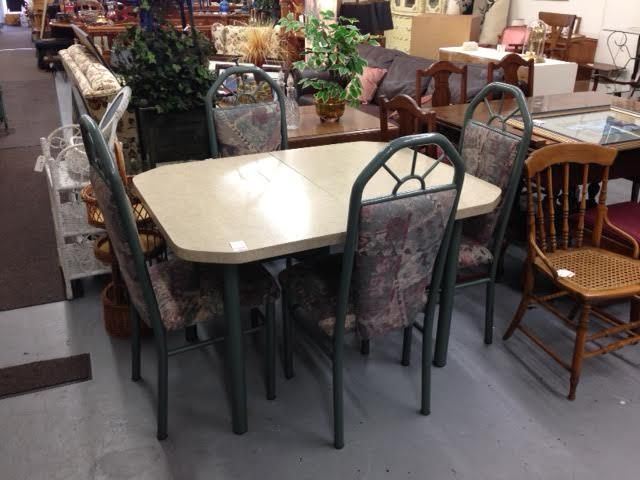 This Is Retro 1990s Dining Table With 4 Chairs 80 Owensound Furniture