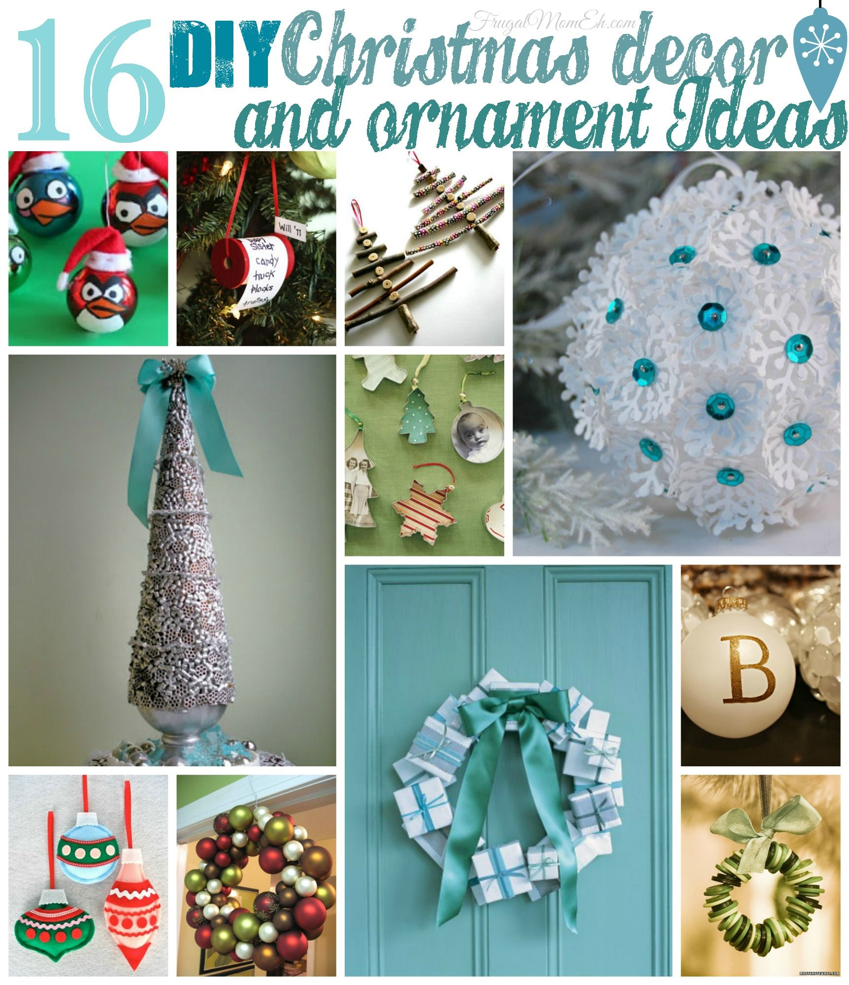 Diy christmas decorations 2014 - Diy Christmas Decorating Ideas 2014 16 Diy Christmas Decor And Ornament Ideas