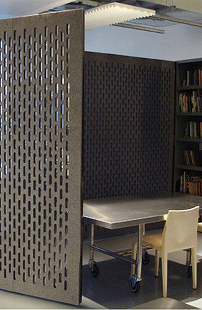 pattern felt wall room divider